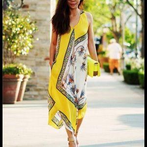 Zara scarf dress